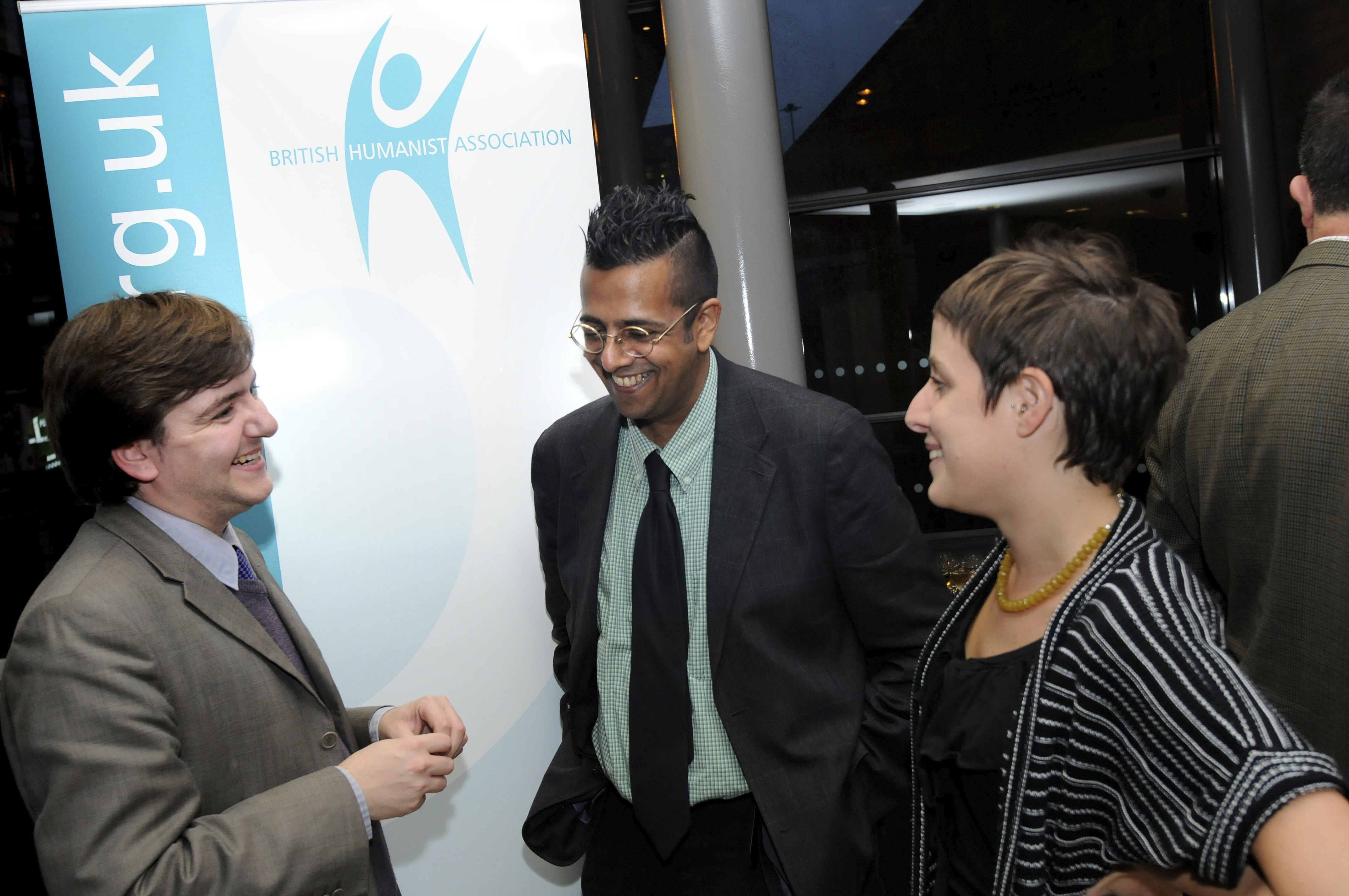 With Simon Singh after his excellent talk