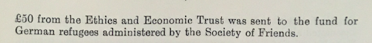 Records from the Ethical Union, 1939 continued